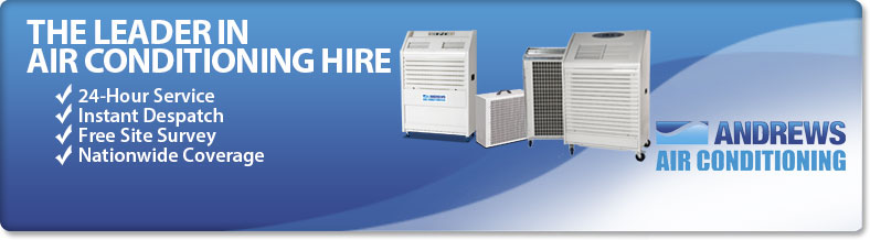Air Conditioning Hire from Andrews Sykes