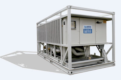 Chiller Rental - 750kw Fluid Chiller