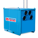 FH500 High Capacity Heavy duty Indirect Oil Fired Heater